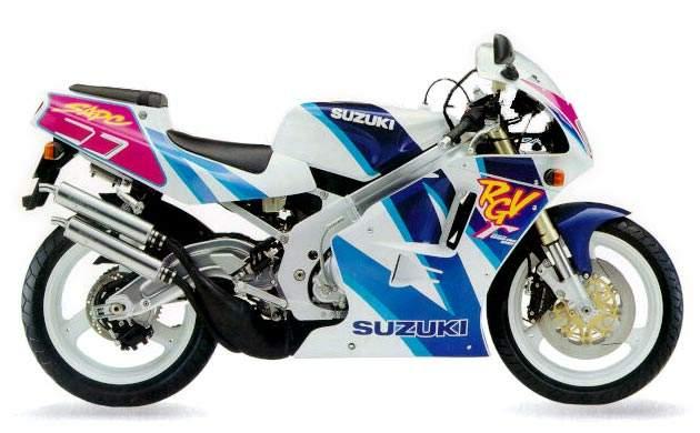 Suzuki RGV 250 technical specifications